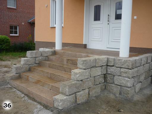 Treppen Jomi Gartenbau